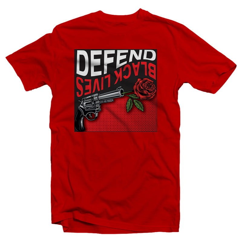 Defend Black Lives Rose T-Shirt
