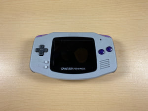 Modded Game Boy Advance W/ IPS Screen (SNES Themed)