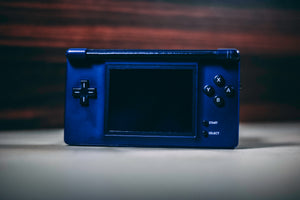 Game Boy Macro (Navy Blue and Black)