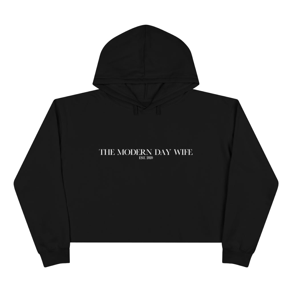 The Modern Day Wife Crop Hoodie
