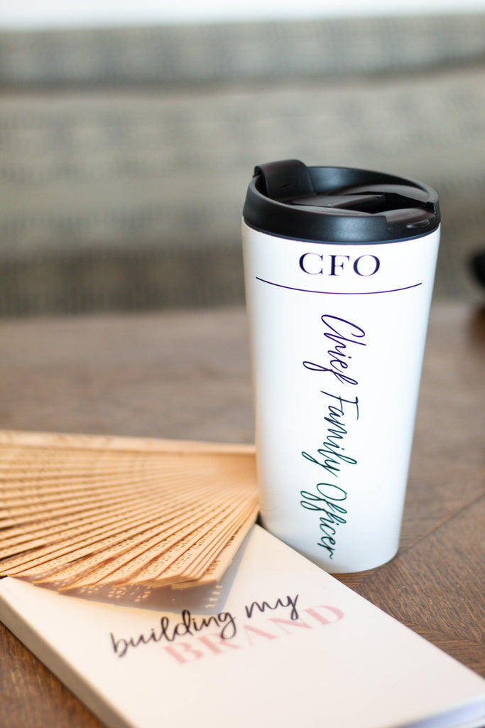 CFO Stainless Steel Travel Mug