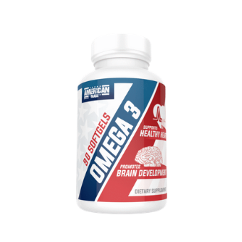 American Made Nutrition Omega 3 Fish Oil