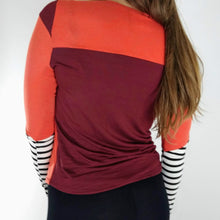 Load image into Gallery viewer, Vox // bamboo long sleeve in poppy