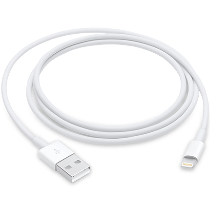 Apple Lightning to USB Cable 1M for iPhone/iPad/iPod