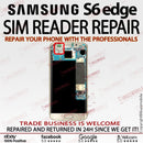 Samsung Galaxy S6 edge G925F SIM READER SLOT Replacement Repair Service