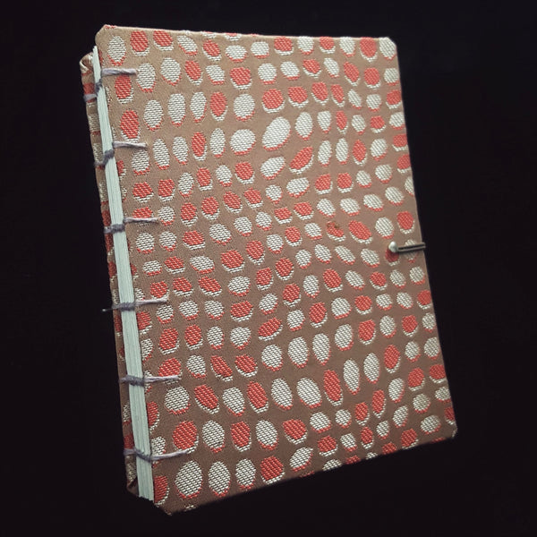 Hard Cover Fabric Notebook