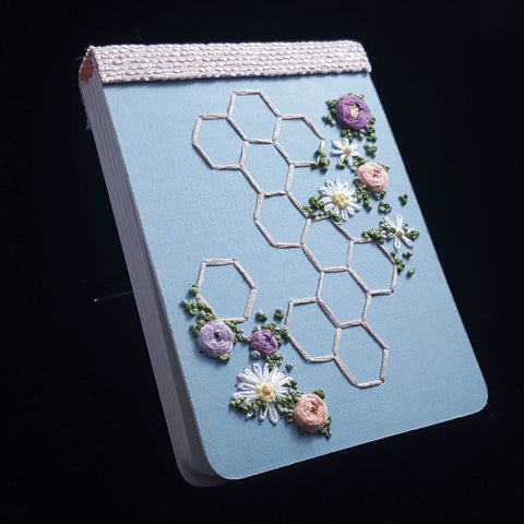 Embroidery Hard Cover Notebook