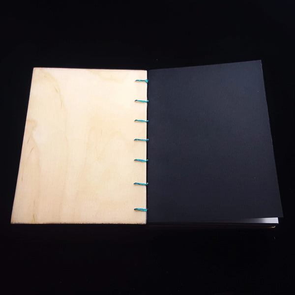 Pink Pour Baltic Birch Sketchbook