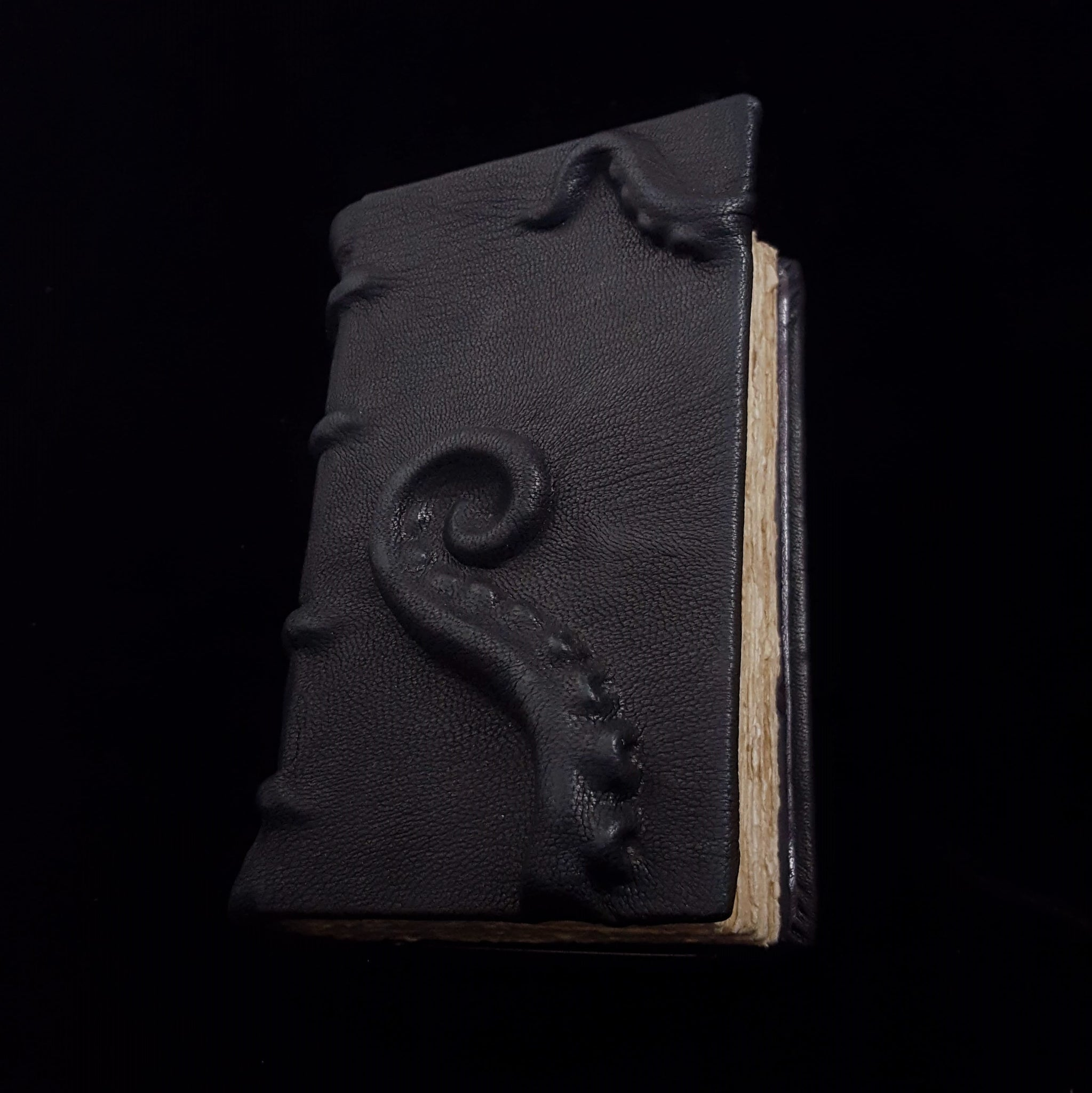 Sculpted Leather Tentacle Book
