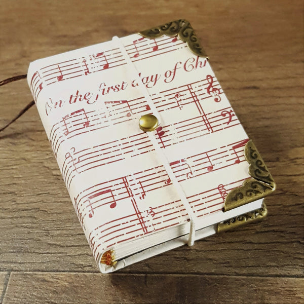 Miniature Book Ornament
