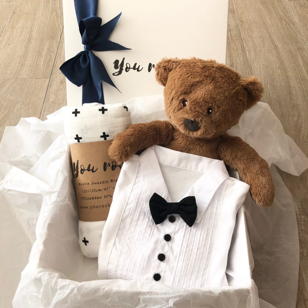 Newborn Baby Boy Gift Box