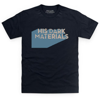 His Dark Materials Block Logo T Shirt