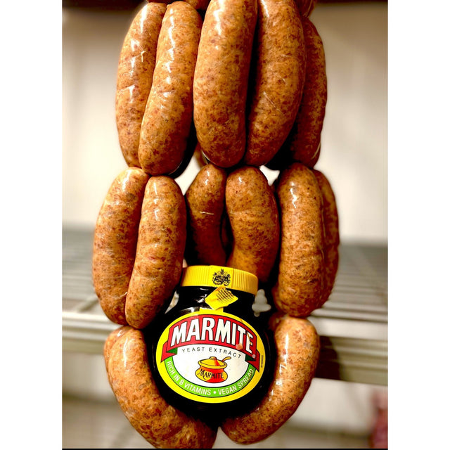 Pork & Marmite Sausage - Love it or hate it !