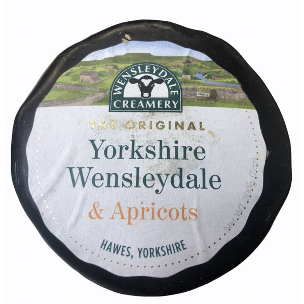 Yorkshire WensleyDale & Apricot Cheese
