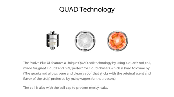 Yocan Evolve Plus XL Vaporizer Pen - Quad Coil