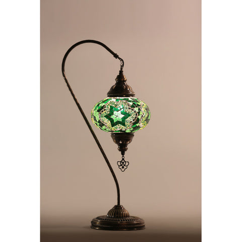 Mosaic Lamp Turkish (Swan Neck) XL