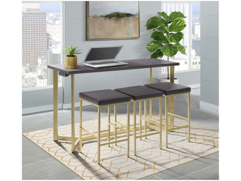 Harper 4 Piece Bar Table Set