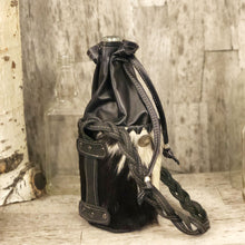 Load image into Gallery viewer, Spirit bag with Cow hide leather and drawstring top