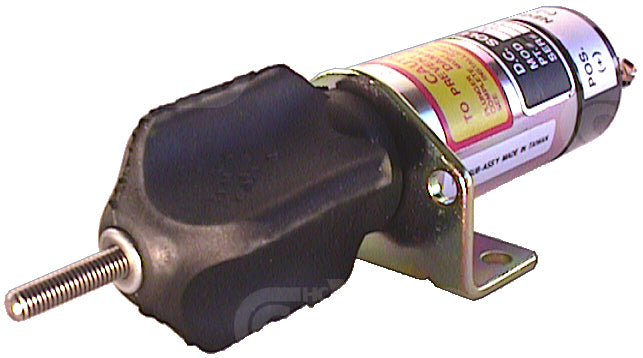 Internally Switched Shutdown Solenoid 12v External Plunger Replacing Synchro-Start 150212c3u1b1s1a 090160 - Mid-Ulster Rotating Electrics Ltd