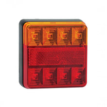 Load image into Gallery viewer, 2 x 12V LED AUTOLAMPS REAR COMBINATION LIGHT STOP TAIL INDICATOR TRAILER 101BAR - Mid-Ulster Rotating Electrics Ltd