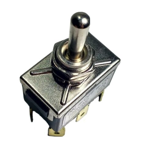 On/Off/On Toggle Switch Flip Flick 6 Terminals Hd 12V 24V Car Cargo 180594 - Mid-Ulster Rotating Electrics Ltd