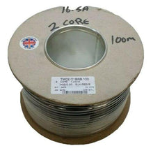 Load image into Gallery viewer, 100M Reel 16.5 Amp 2 Core Flat Twin Automarine 12V 24V Thin Wall Car Cable Wire - Mid-Ulster Rotating Electrics Ltd