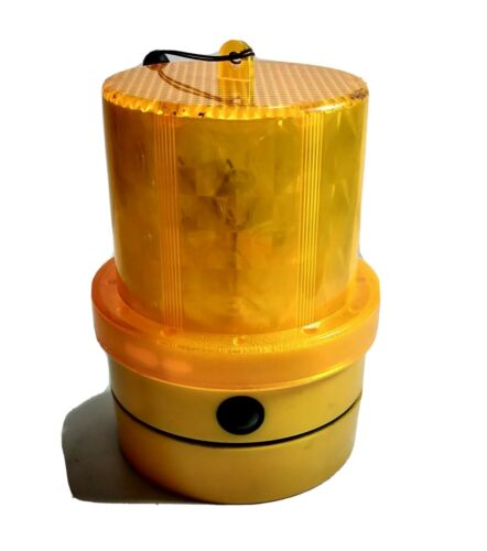 Magnetic Mount Beacon Amber Led Flasher D Cell Battery Powered Cargo 172253 - Mid-Ulster Rotating Electrics Ltd