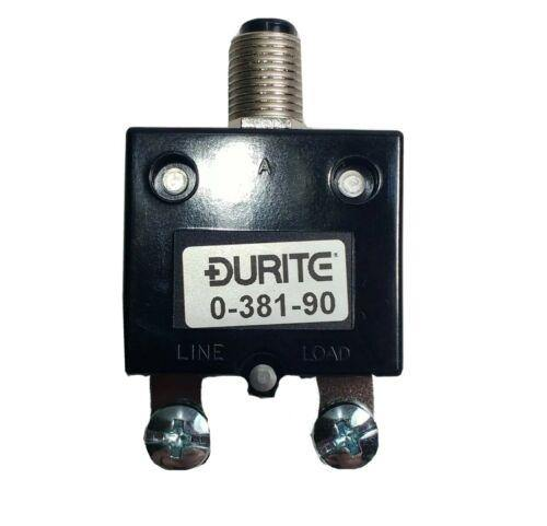 40A Thermal Circuit Breaker Trip Push Button Re-Settable 12V 24V Durite 0-381-90 - Mid-Ulster Rotating Electrics Ltd