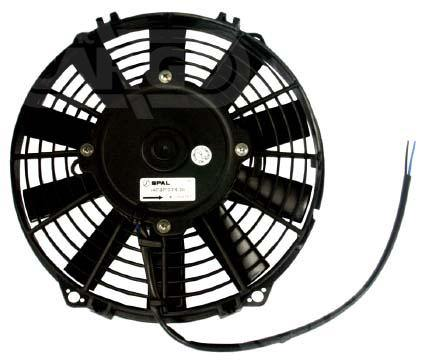 4.1 Amp 24v Axial Fan Blower Unit Power Consumption Air Conditioning Fan Replacing Spal 160588 - Mid-Ulster Rotating Electrics Ltd