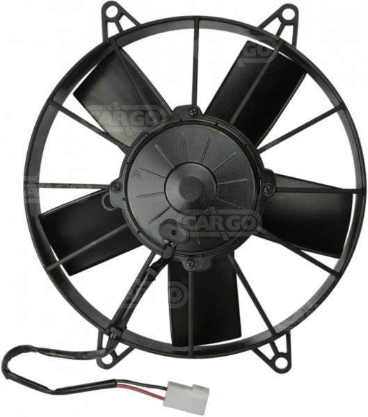 24v Axial Fan Blower Unit 5.7 Amp Power Consumption Air Conditioning Fan Replacing Spal 160907 - Mid-Ulster Rotating Electrics Ltd