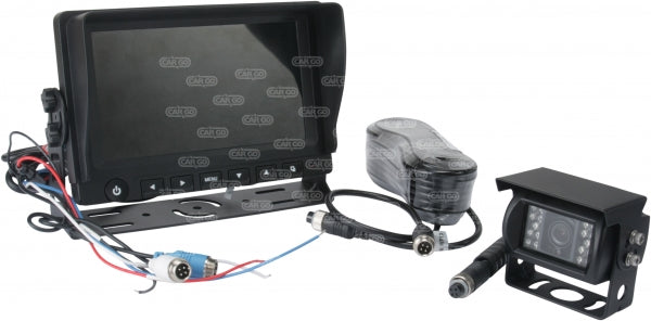 Reversing Camera Kit  With Night Vision Infrared Camera 12v Or 24v Dual Voltage, Tft Lcd 7 161046 - Mid-Ulster Rotating Electrics Ltd
