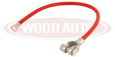 BATTERY LEAD RED 16MM 450MM LONG POSITIVE CABLE M8 EYE BAL1102R WOOD AUTO - Mid-Ulster Rotating Electrics Ltd