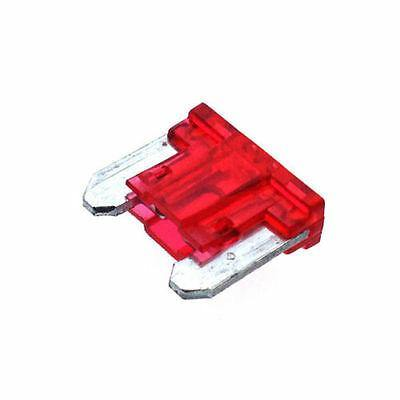 10 X 10A Blade Fuse Automotive Mini Low Profile Red Up To 58V Cargo 192767 - Mid-Ulster Rotating Electrics Ltd