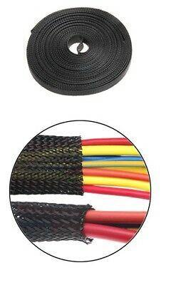 10M Braided Sleeving Expandable Loom Harness Protector 8Mm Mure Ebs-8 - Mid-Ulster Rotating Electrics Ltd
