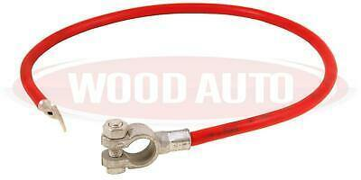 Battery Lead Red 16Mm Squaerd 600Mm Long Positive Cable M8 Wood Auto Bal1103R - Mid-Ulster Rotating Electrics Ltd
