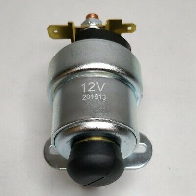 PUSH BUTTON STARTER SOLENOID 12V 3 TERMINAL SRB716 76702 CARGO 233954 - Mid-Ulster Rotating Electrics Ltd