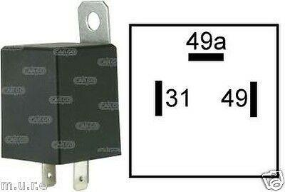 3 Pin Flasher Relay Indicators 6V 42W For Light Turn Signal Cargo 160651 - Mid-Ulster Rotating Electrics Ltd