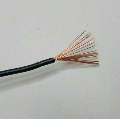 10M Length 14 Amp Black Single Core Automarine 12V 24V Thin Wall Cable Wire - Mid-Ulster Rotating Electrics Ltd