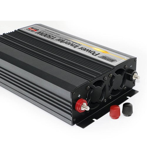 Maypole 1500W Power Inverter DC 12V to 230V AC Converter with AC Outlet and 5V 2.1A USB Car Charger MP56150 - Mid-Ulster Rotating Electrics Ltd