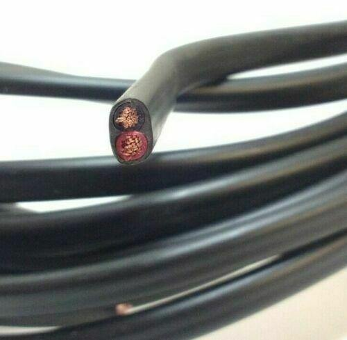 30M Reel 33 Amp 2 Core Flat Twin Automarine 12V 24V Thin Wall Car Cable Wire - Mid-Ulster Rotating Electrics Ltd