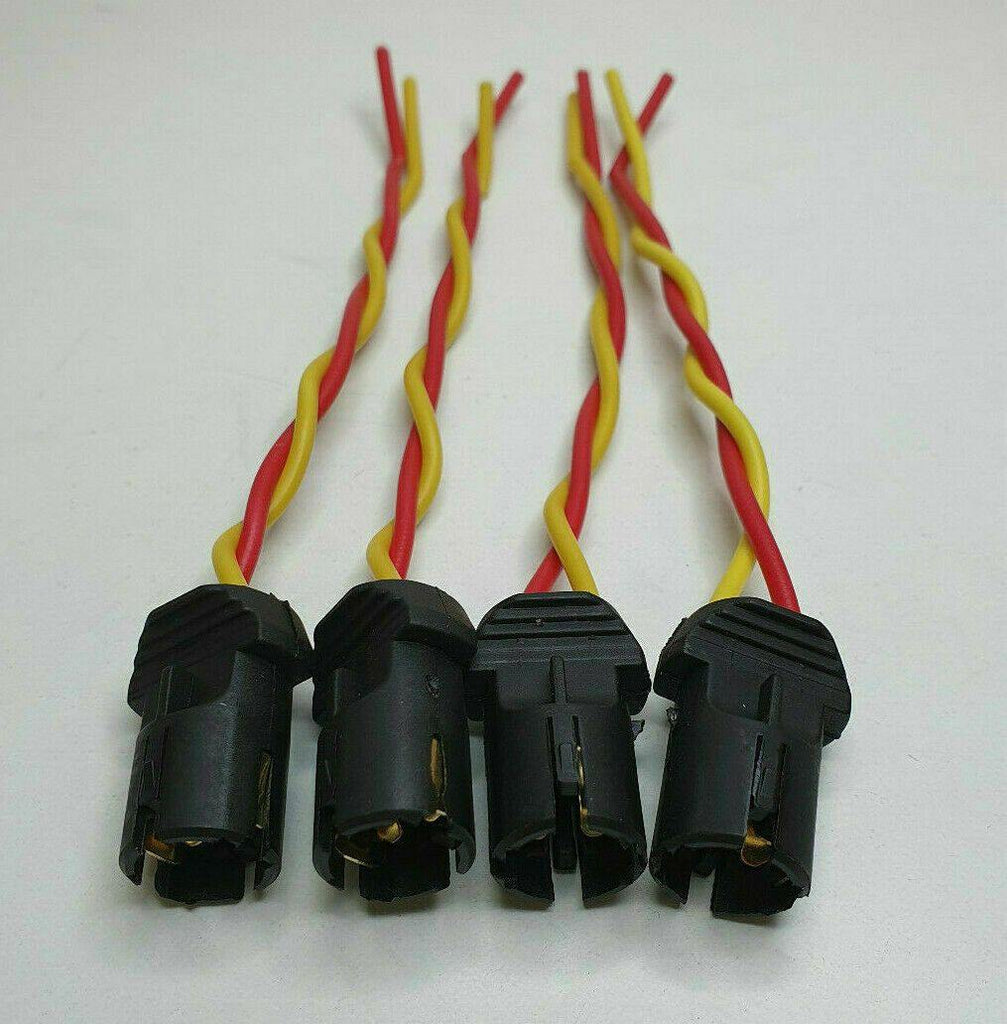 4 X Capless Wedge Bulb Holder 501 505 507 T10 6V 12V 24V Push Mure Blbh069 - Mid-Ulster Rotating Electrics Ltd