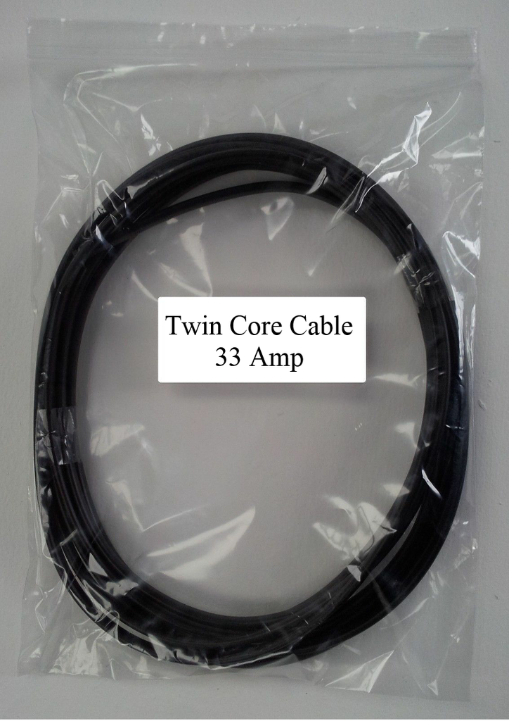 10M Length 33 Amp 2 Core Flat Twin Automarine 12V 24V Thin Wall Car Cable Wire - Mid-Ulster Rotating Electrics Ltd