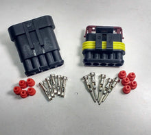 Load image into Gallery viewer, 5 Way Superseal Plug Kit Connector Waterproof Marine Lorry Cargo 12V 24V - Mid-Ulster Rotating Electrics Ltd