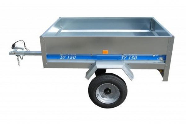 Maypole Galvanised Steel Metal Trailer (SY150) 150 X 105 X 40cm 499KG MP6815 - Mid-Ulster Rotating Electrics Ltd