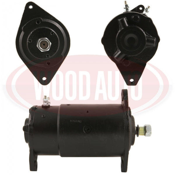 WOOD AUTO DYNASTARTER MOTOR REPLACES REMY (DELCO) TO FIT MASSEY FERGUSON TRACTOR CASE DIGGER 12V 25AMP 113143 DST10009 - Mid-Ulster Rotating Electrics Ltd
