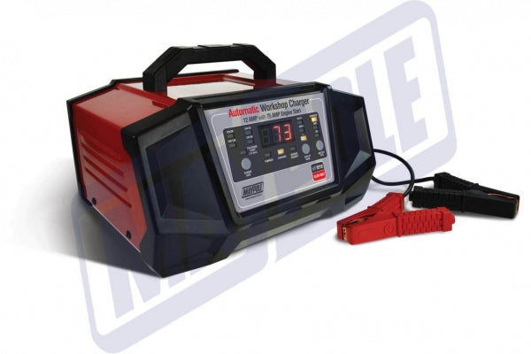 Automotive Electronic Smart Bench Workshop Charger 12v / 24v 12 Amps With 75 Amps Engine Start MP7212 - Mid-Ulster Rotating Electrics Ltd