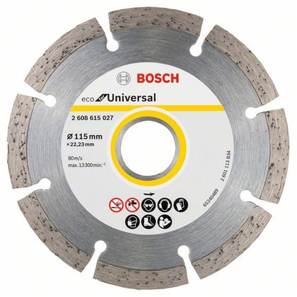 2608615027 DISC DIAMANTAT UNIVERSAL 115MM