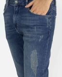 Jeans uomo carrot fit