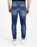 Jeans slim mini rotture