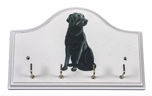 Key/Dog Lead Holder:   Labrador